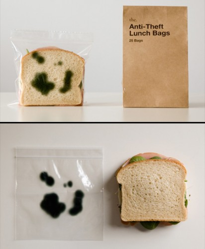 Anti vol pour sandwich