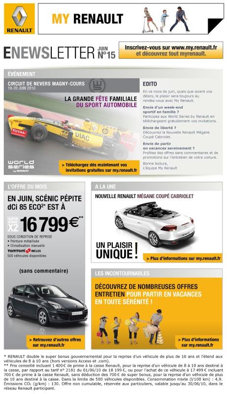 Je ne suis pas sponsorisée pour citer ces marques... Désolée pour ceux qui roulent en Peugeot, Citroën ou autres... :-)