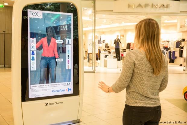 Essayage virtuel de vêtements