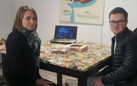 Anna et Romain racontent leur stage chez Dynamo Néocom